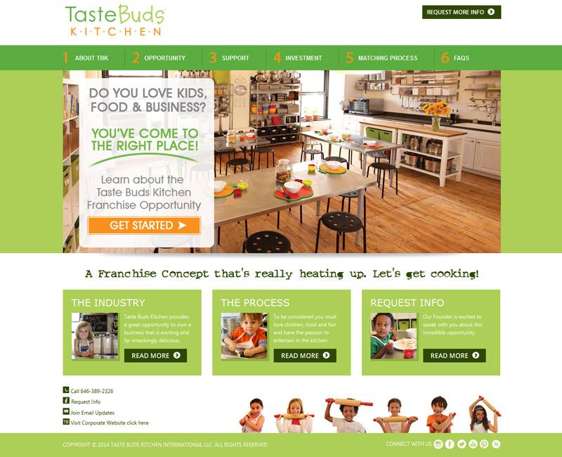 Taste Buds Kitchen - Stark Logic